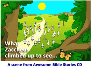 Awesome Bible Stories CD